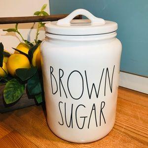 Rae Dunn BROWN SUGAR Canister Jar